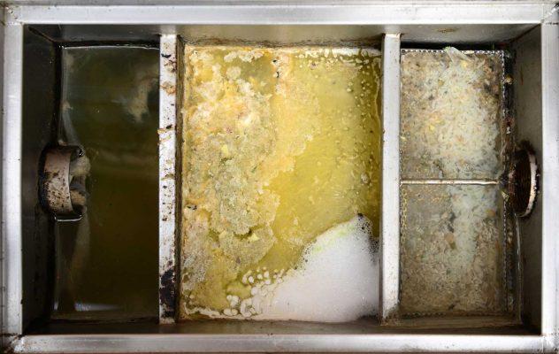 Xử lý mùi hôi và giảm lượng dầu mỡ tích tụ ở bể tách mỡ