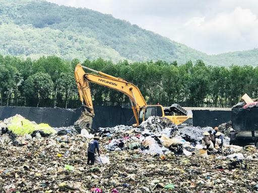 Xử lý mùi hôi từ rác thải tập trung, bãi chôn lấp rác