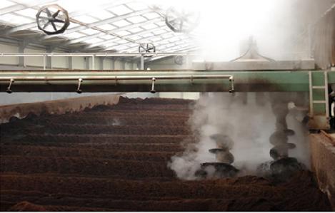 Tăng tốc độ xử lý và giảm mùi khi sản xuất phân Compost